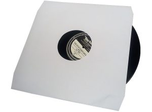 12 inch vinyl pressing white inner