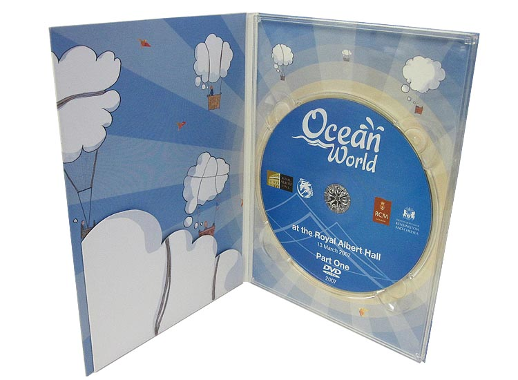 DVD digipack with pocket