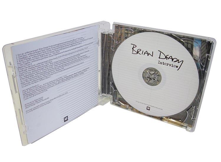 Brian Deady super jewel case open standing