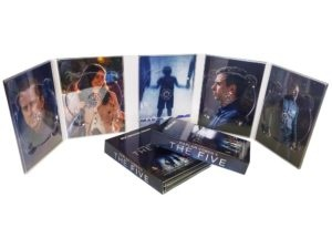5 disc 10 panel DVD digipack