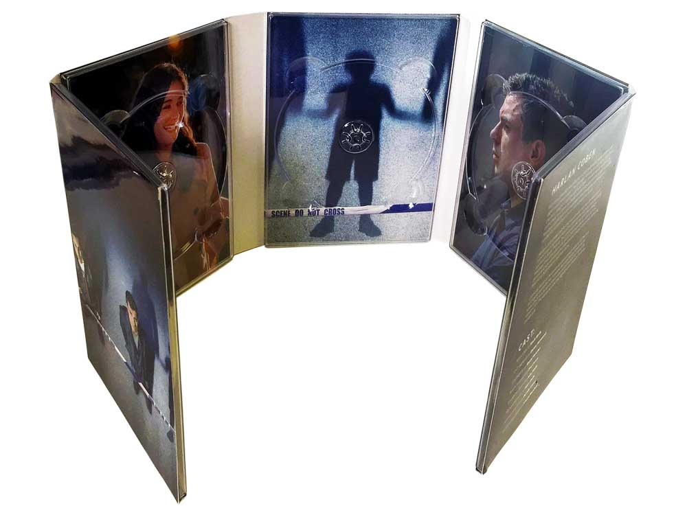 10 panel DVD digipack 5 discs