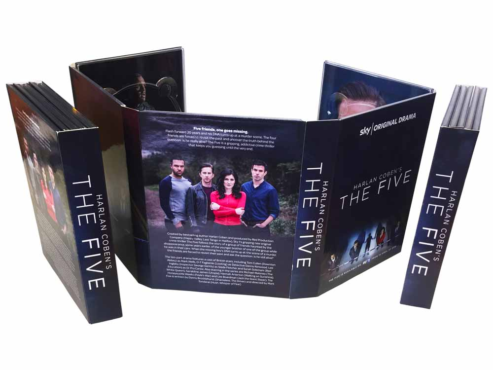 10 panel DVD digipack 5 tray