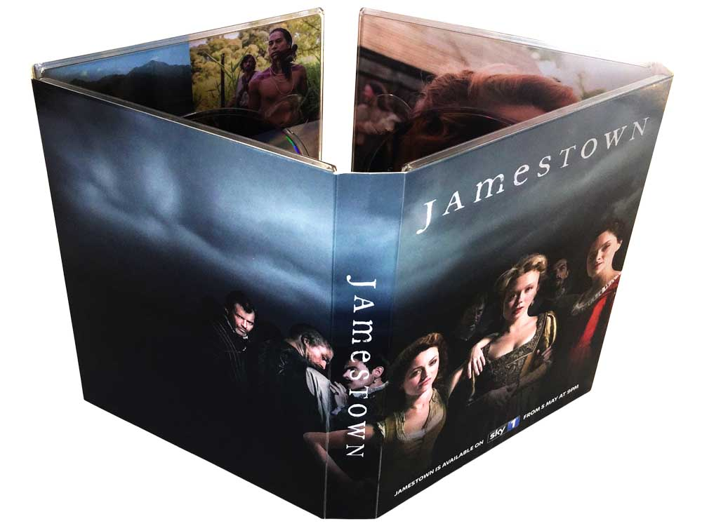 8 panel DVD digipack 4 disc trays
