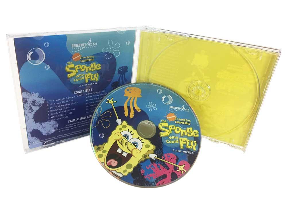 SpongeBob music CD super jewel case
