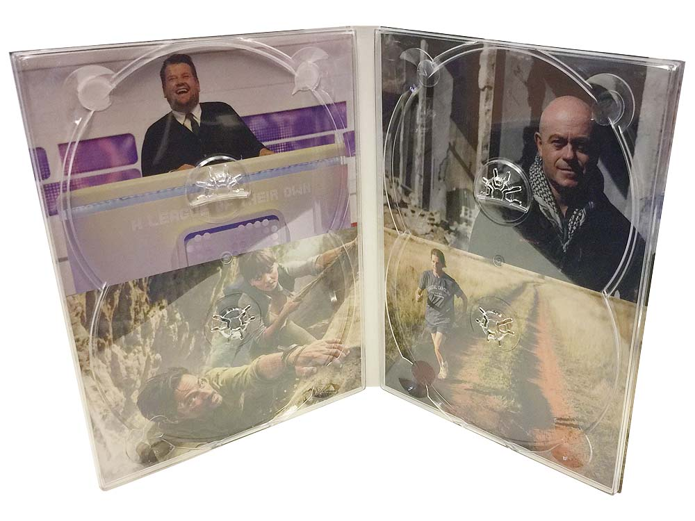 4 panel DVD digipack 4 discs