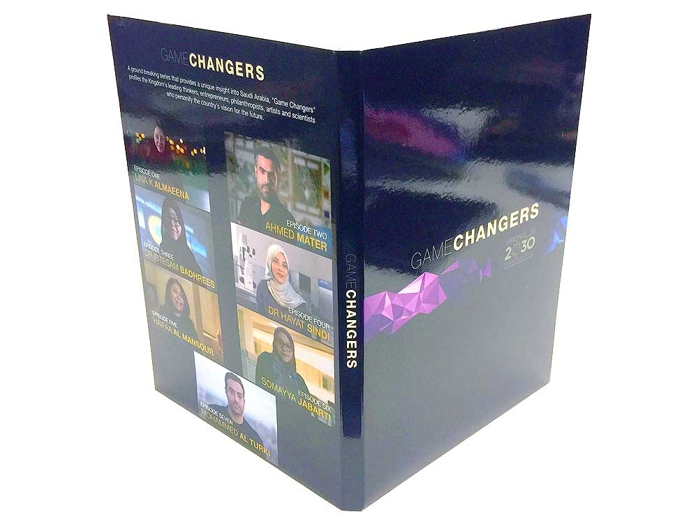 DVD digipack with booklet slot pocket