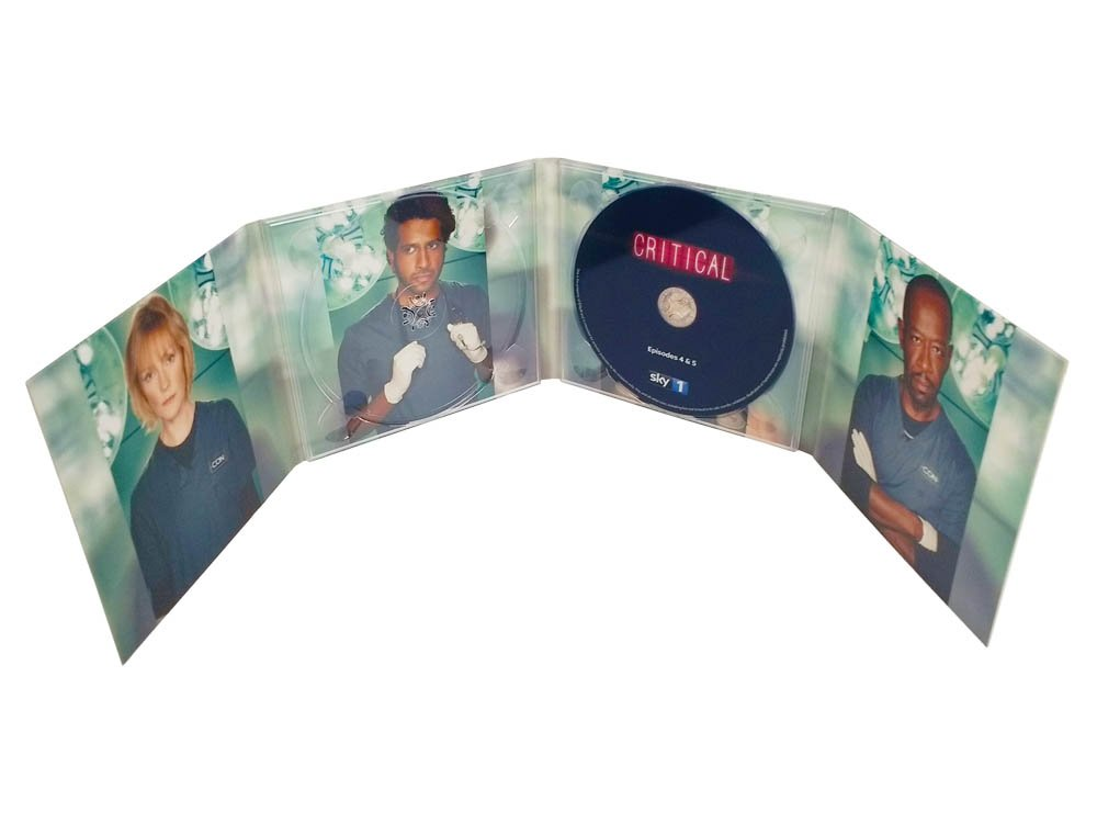 8 panel CD digipack