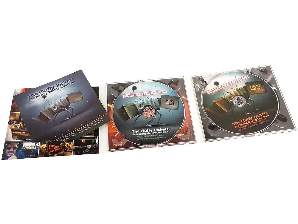 CD digipack 6 panel