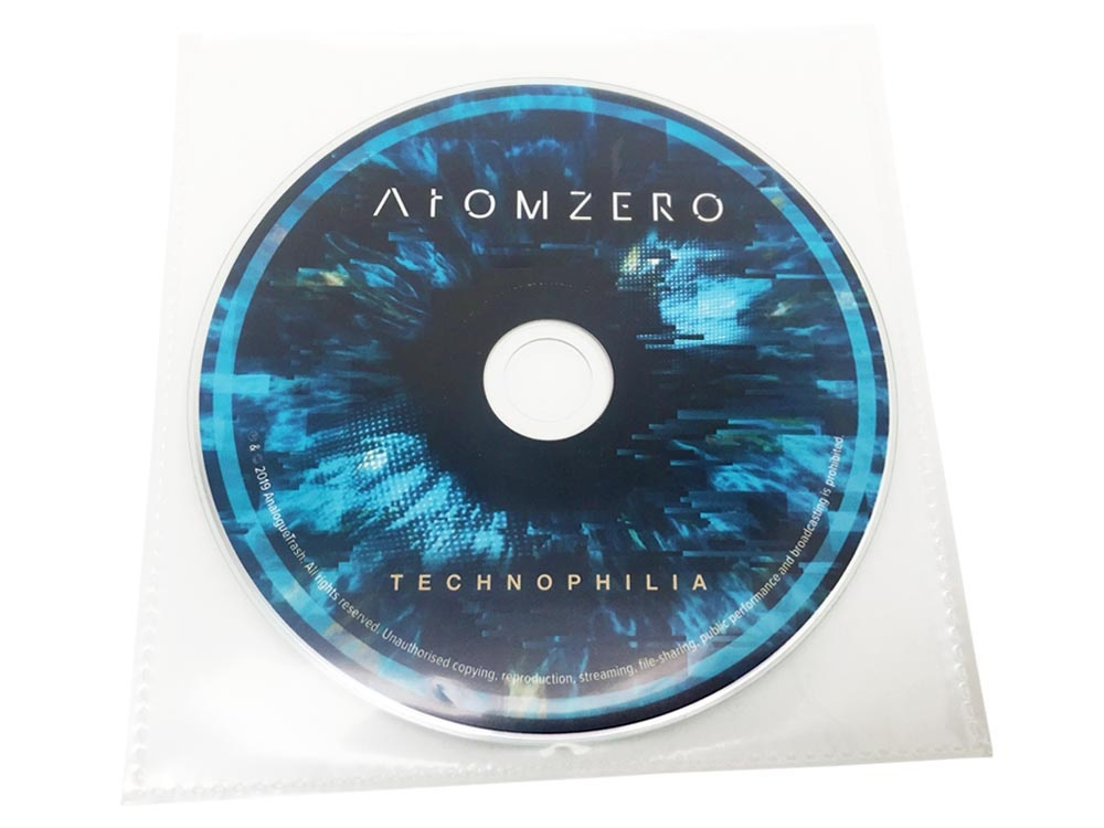 CD in pvc wallet