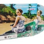 Lily Cole DVD in printed card sleeve
