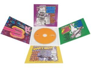 10 panel CD digipack clear tray