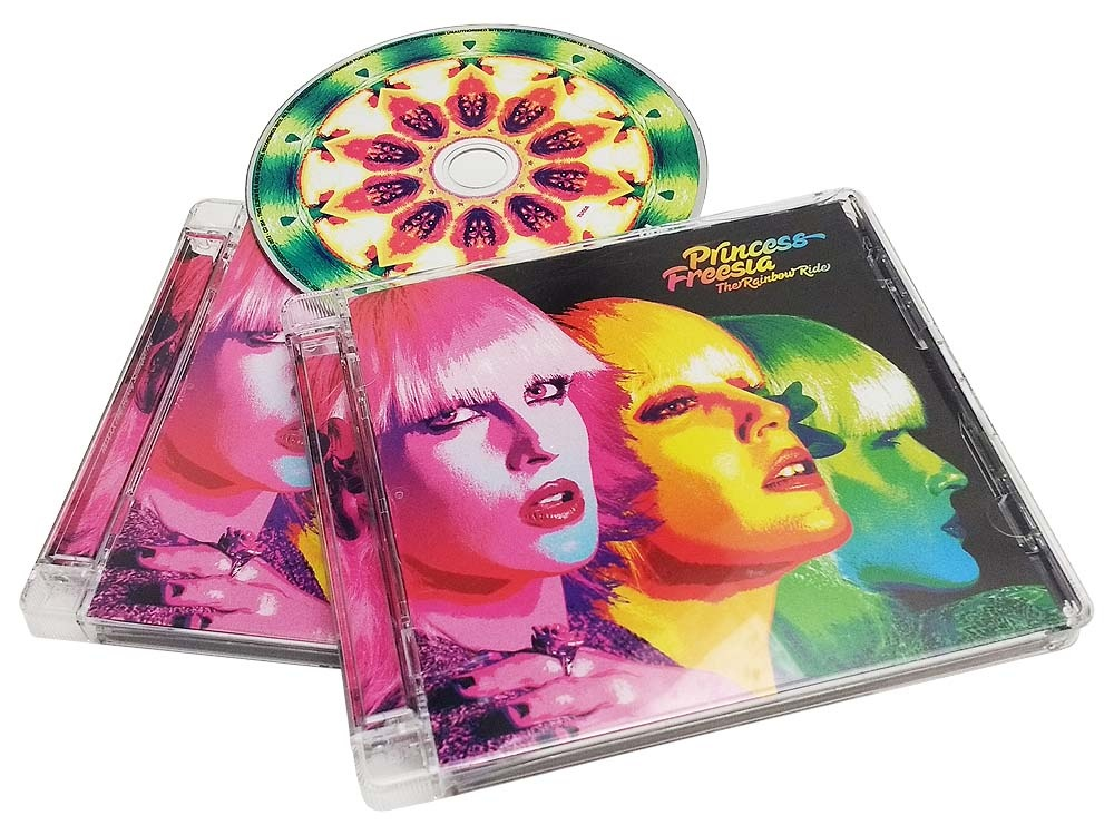 jewel case super style with disc