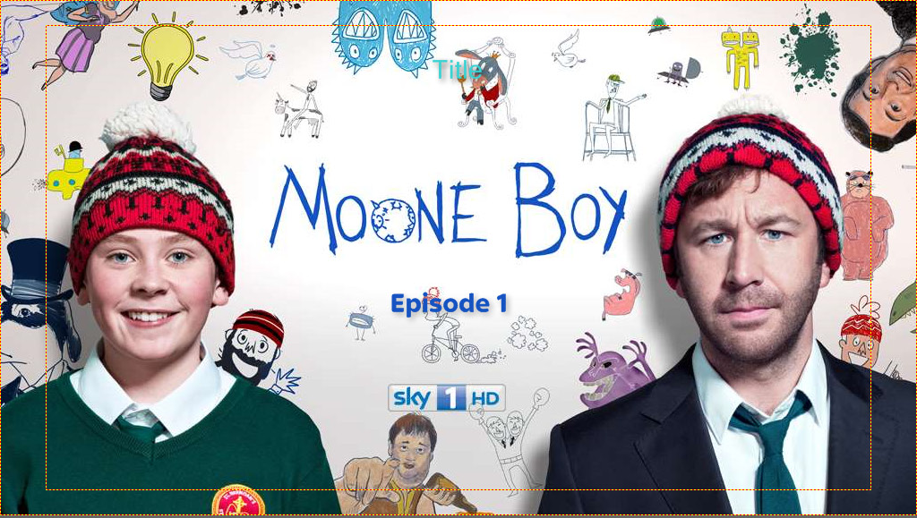 Moone Boy DVD menu
