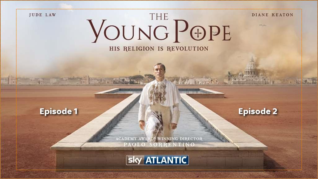 The Yong Pope DVD menu