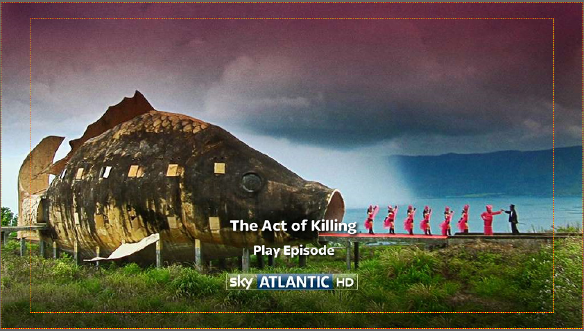 The Act of Killing DVD menu
