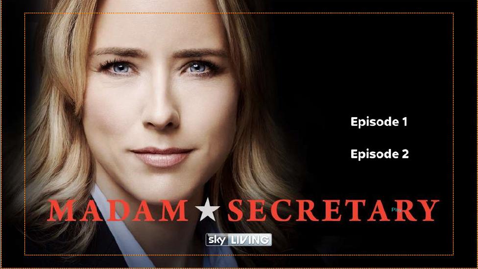 Madam Secretary DVD menu