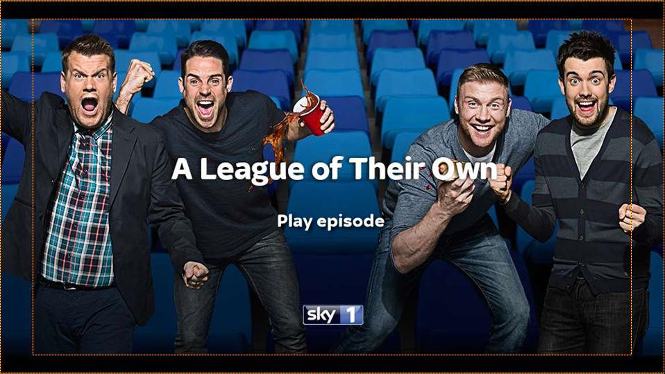 League of their own 2 DVD menu
