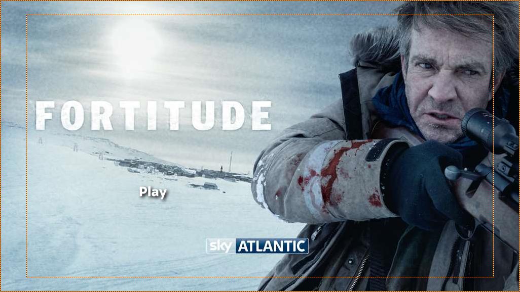 Fortitude DVD menu