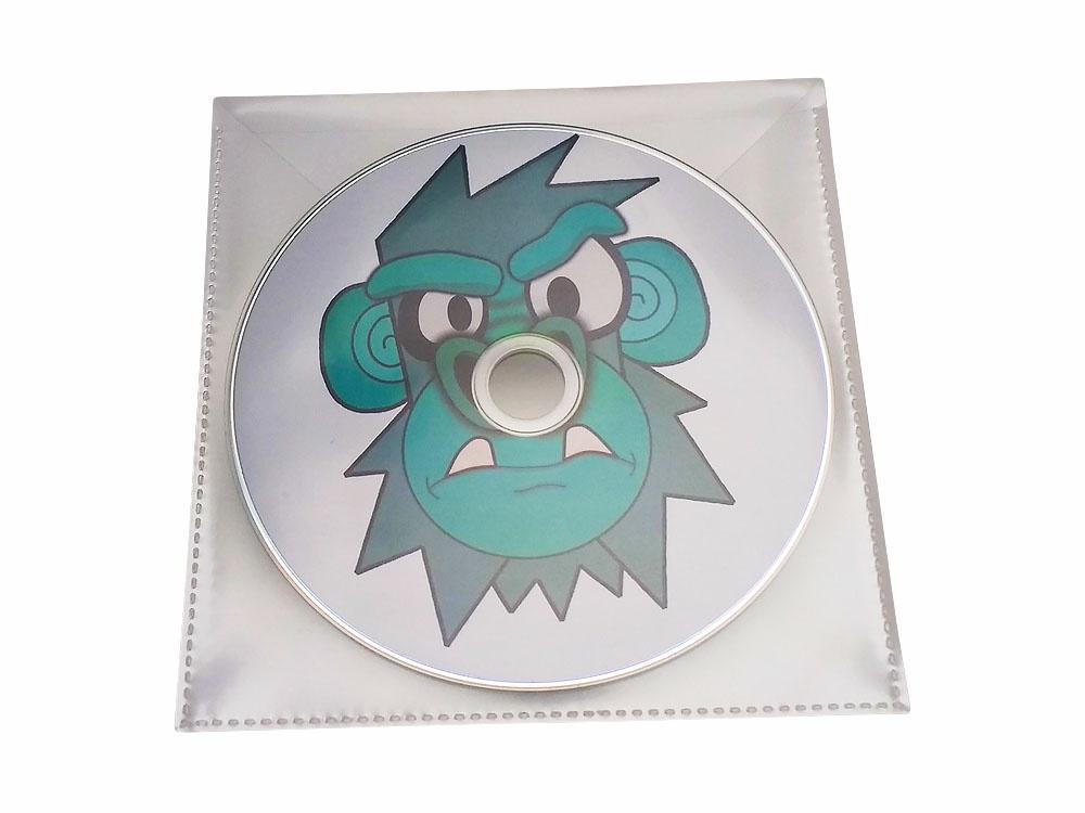 Clear PVC wallet
