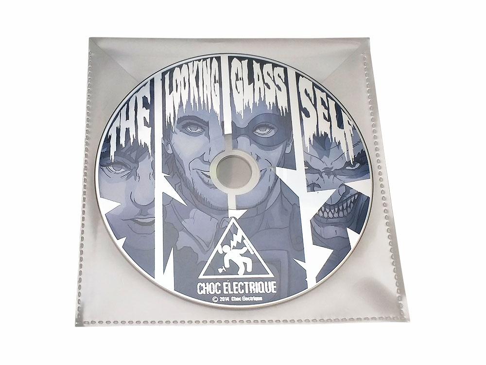 CD duplication in PVC wallet