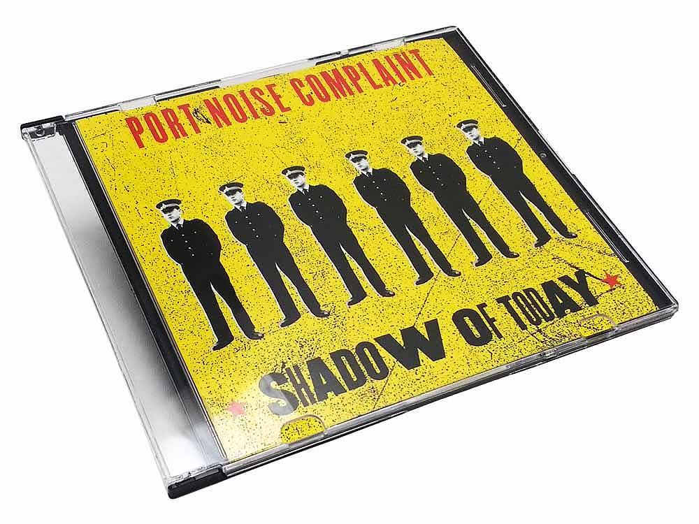 CD duplication in slim plastic case