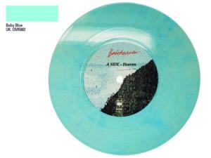 Baby blue 7 inch colour vinyl Babeheaven