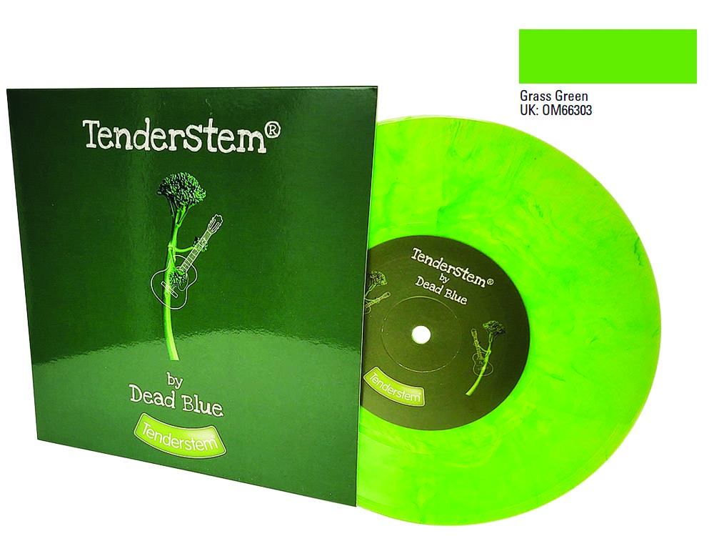 7 inch green colour vinyl and sleeve Tenderstem