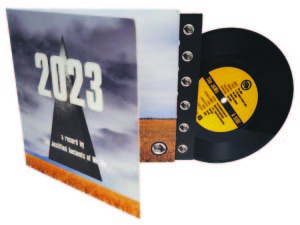 7 inch vinyl with full colour printed gatefold sleeve and printed inner