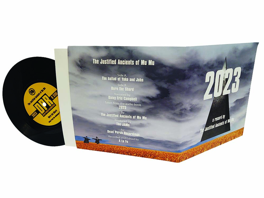 7 inch vinyl with full colour printed gatefold sleeve